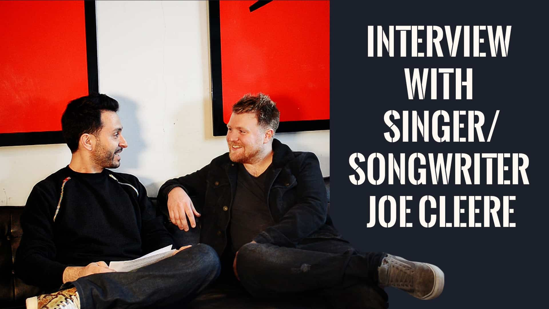 Interview with singer/songwriter Joe Cleere